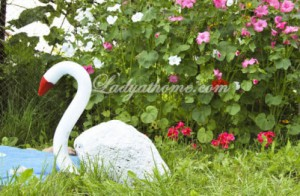 Лебедь своими руками
