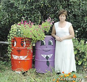 Красота из ничего. Украшаем двор из мусора