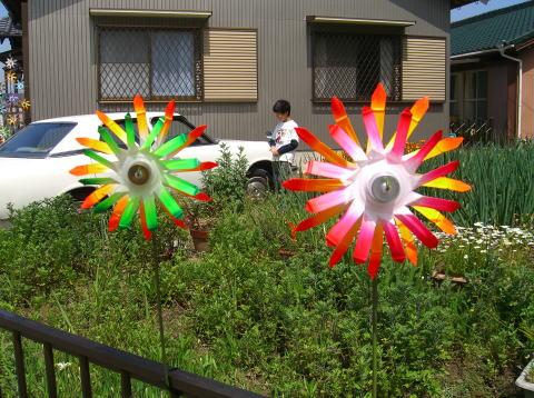 Ветряная мельница из пластиковых бутылок - фотоурок