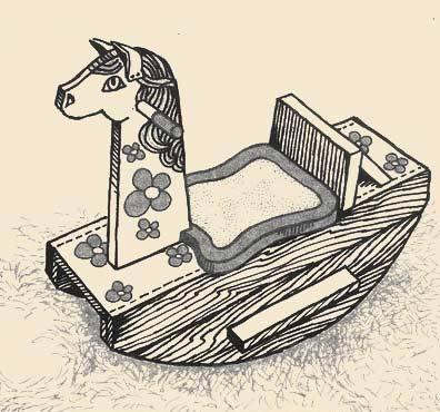 Лошадь-качалка своими руками